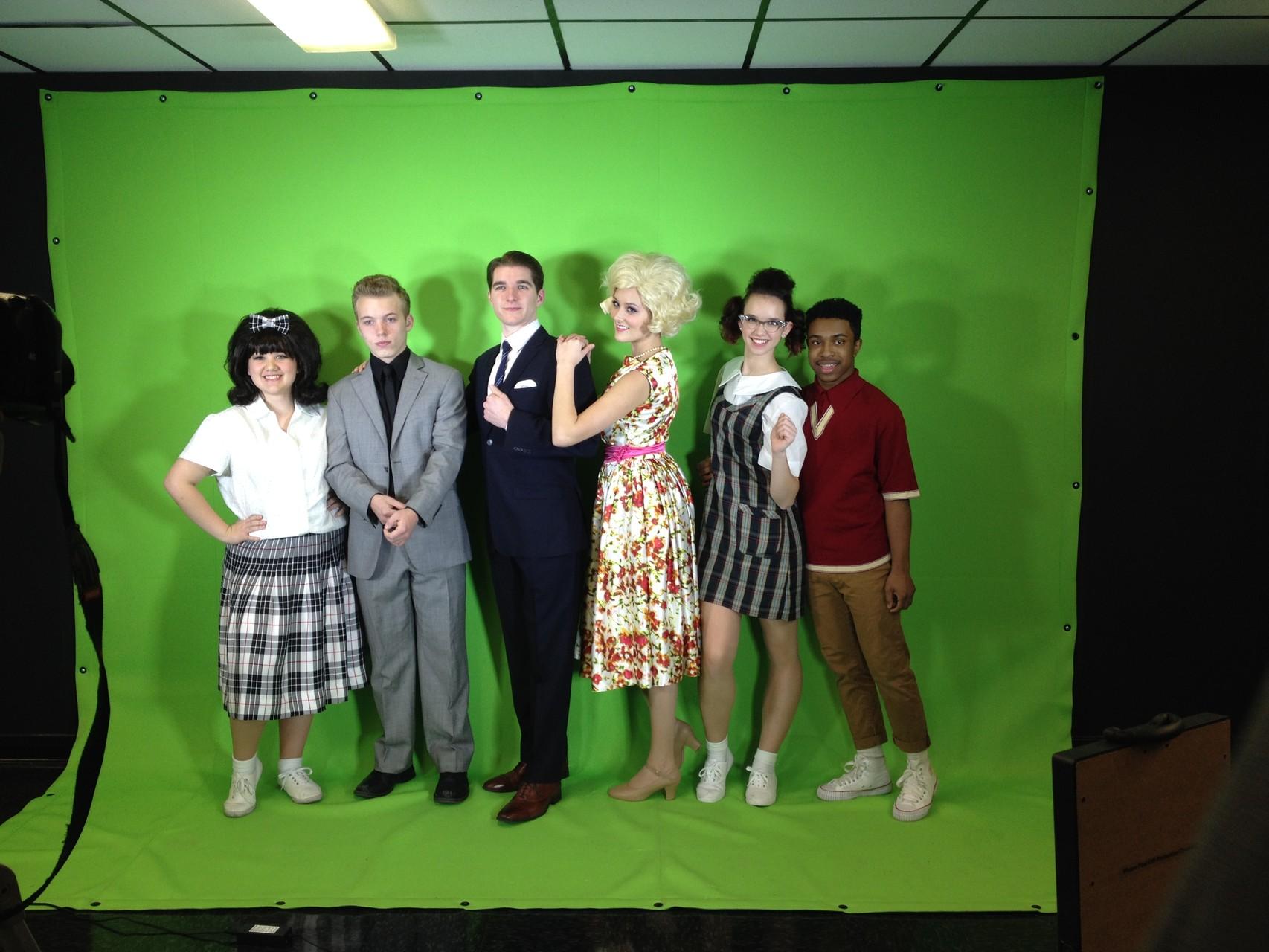 Greenscreenshooting für 'Hairspray' Musical