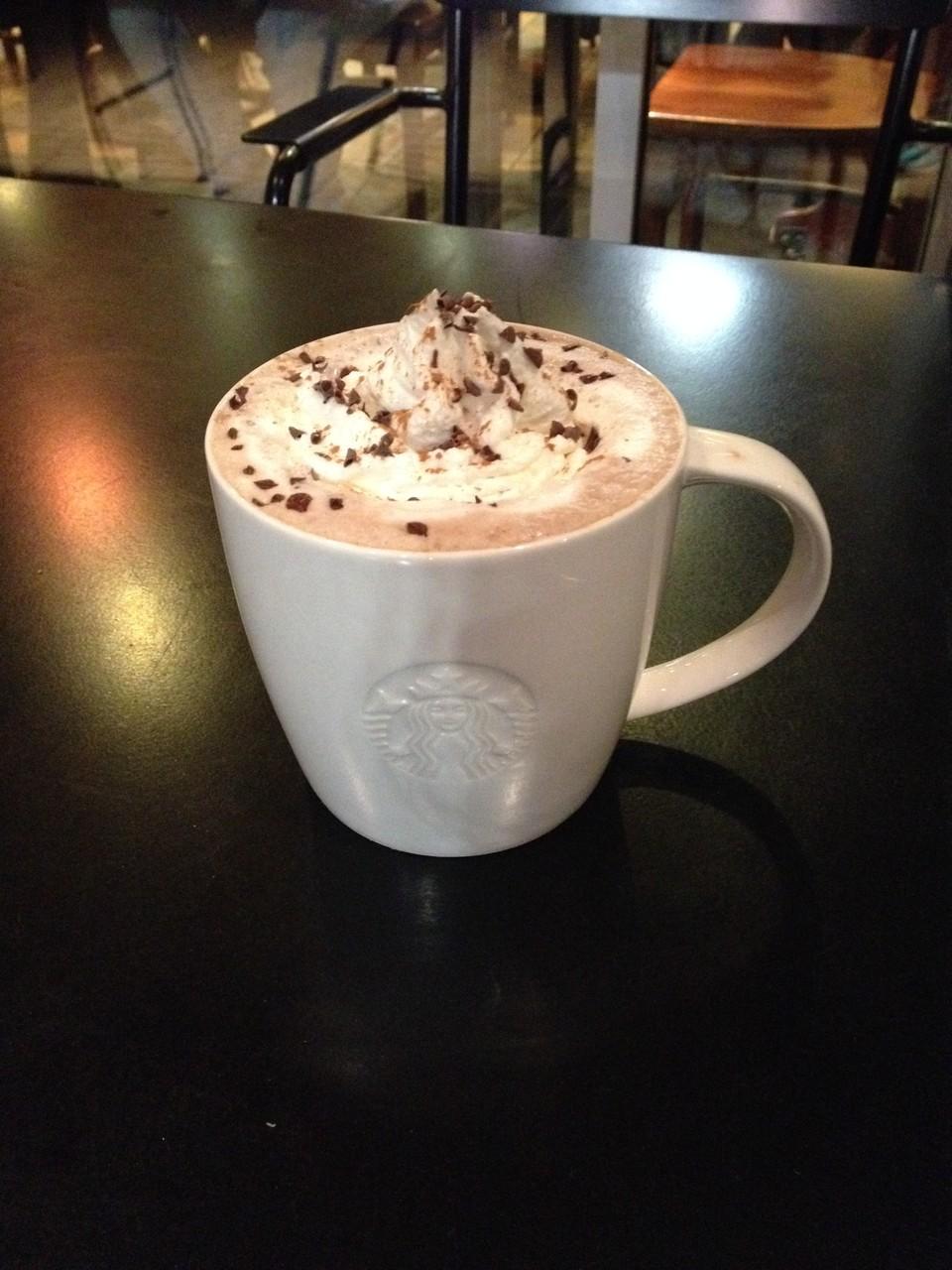 Peppermint Mocha at Starbucks
