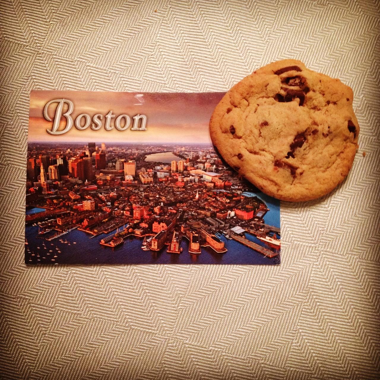 Postkarte aus Boston