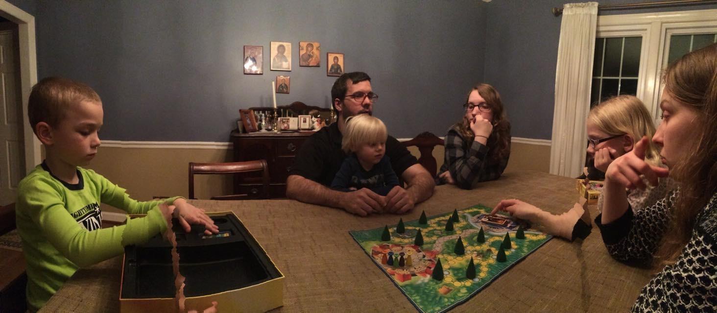Spieleabend mit einem DEUTSCHEN Spiel - Sagaland!