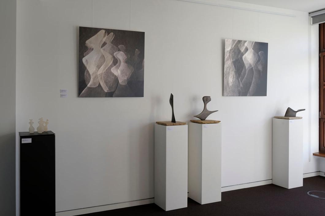 """Blick in die Ausstellung """"Atlantis"""": Hier die Tafeln 3 und 4"""