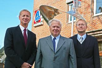 Managing Directors Gerit Bruns, Erich Bruns, Jürgen Bruns