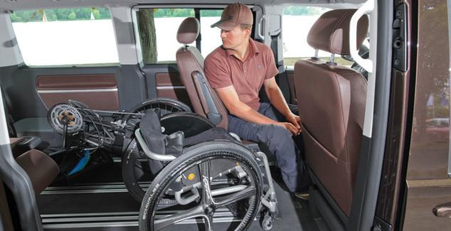 Fahrzeuge für behinderte Menschen