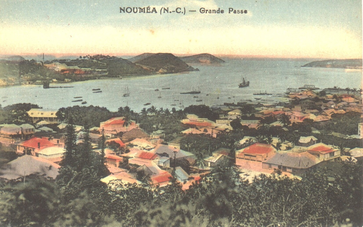 Nouméa : la baie de la Moselle et la grande passe