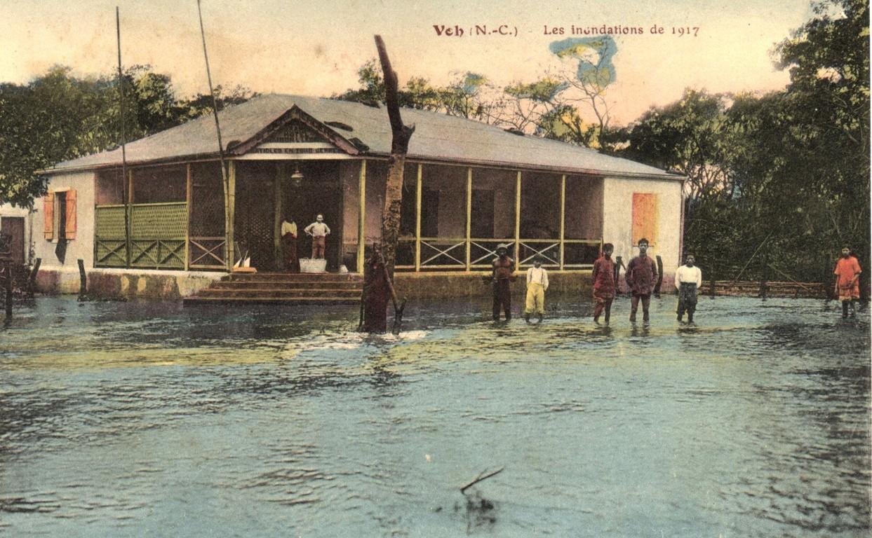 Voh : les inondations de 1917
