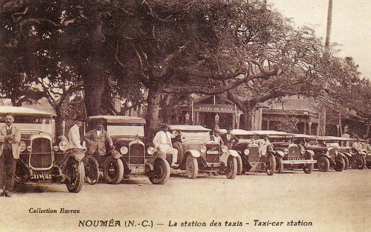 Nouméa : la station de taxis