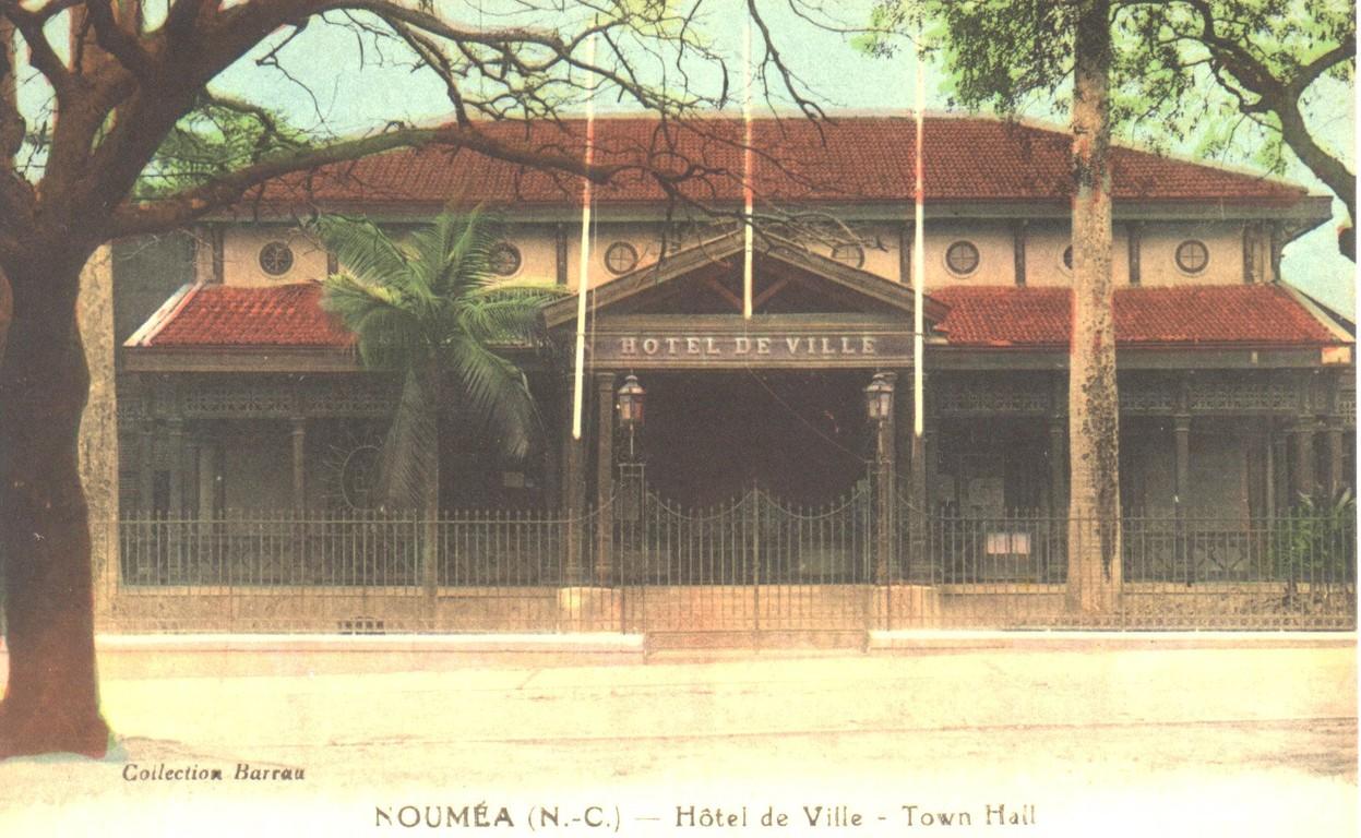 Nouméa : l'hôtel de ville