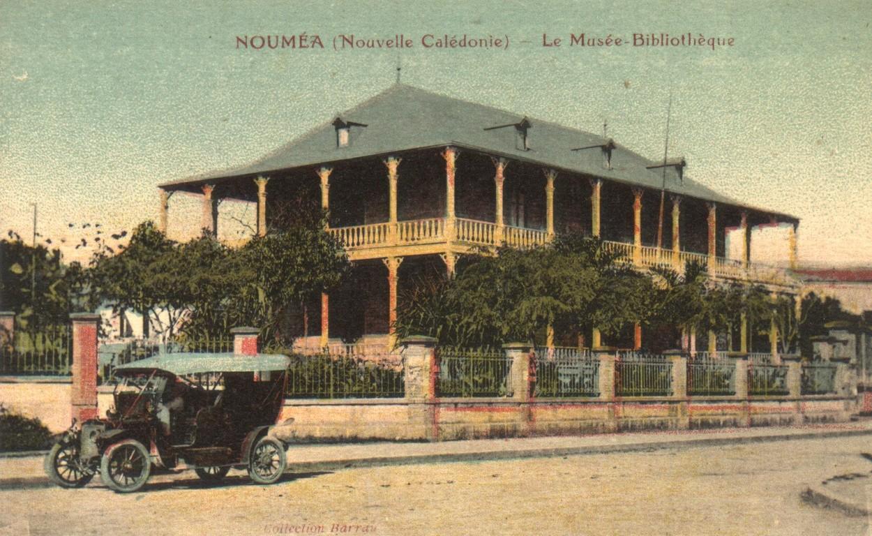 Nouméa : le musée-bibliothèque Bernheim