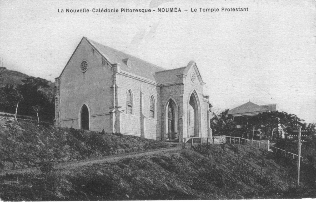 Nouméa : le temple protestant