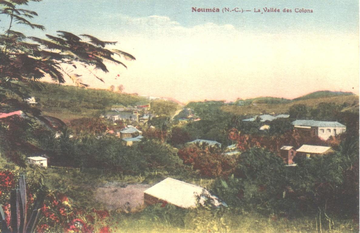 Nouméa : la vallée des Colons