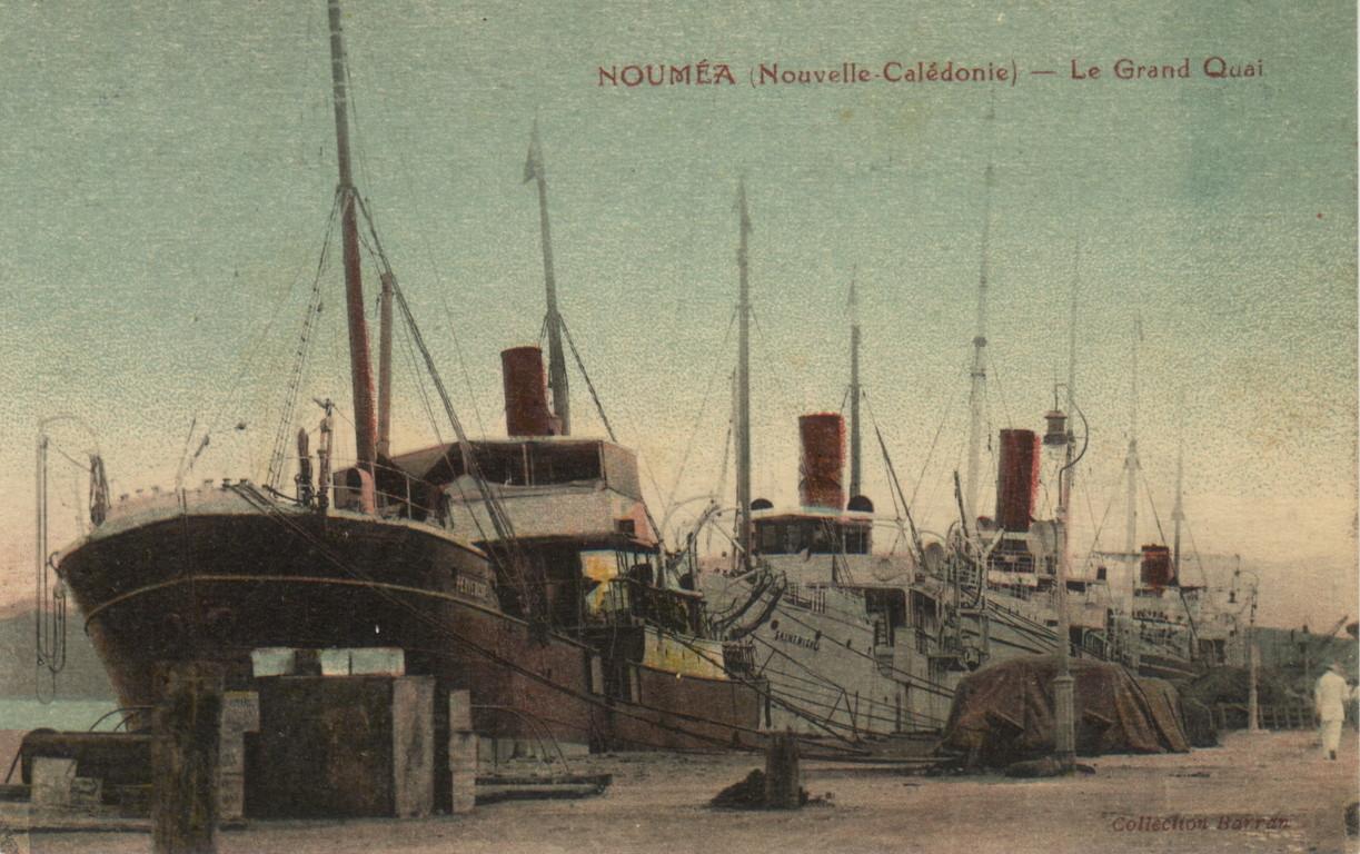 Nouméa : le grand quai