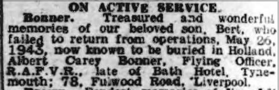 Newcastle Evening Chronicle 26-5-1945