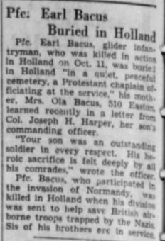 Alton Evening Telegraph 26-3-1945