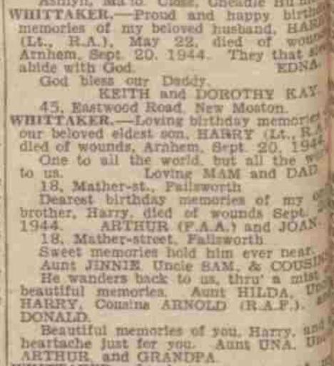Manchester Evening News 22-5-1945
