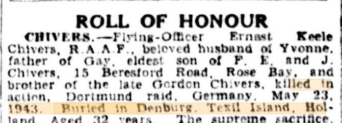 The Sydney morning Herald 6-11-1943