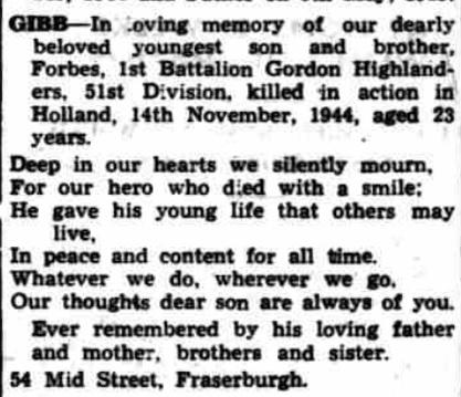 Fraserburgh Herald 13-11-1945