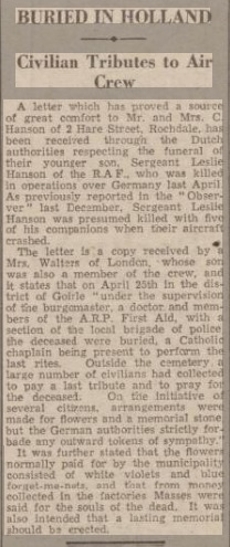 Rochdale Observer 20-1-1945