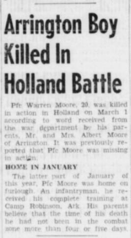 Atchinson Daily Globe 19-3-1945