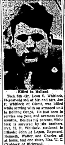 Charleston Gazette 25-1-1945