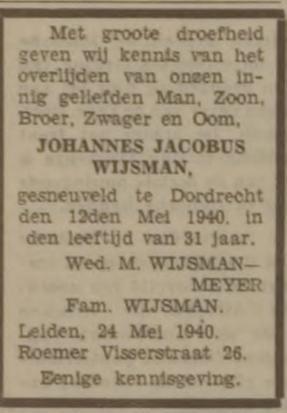 Leidsch Dagblad 24-5-1940