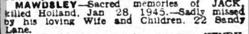Liverpool Echo 28-1-1947