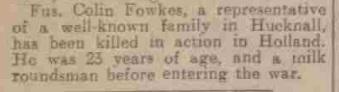 The nottingham Evening News 23-11-1944