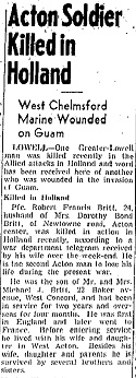 Lowell Sun 30-10-1944