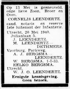 De Standaard 22-5-1940