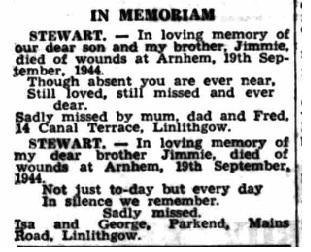 Linlithgowshire Gazette 16-9-1949