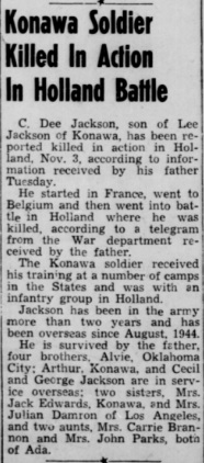 Ada Evening News 26-11-1944