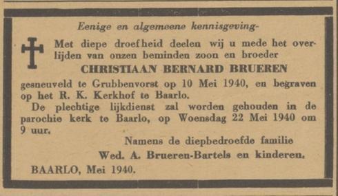 Nieuwe Venlosche Courant 20-5-1940