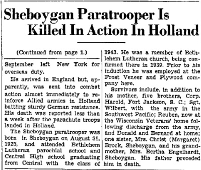 Sheboygan Press 10-10-1944