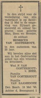 Provinciale Noorbrabantse Courant 20-5-1940
