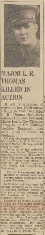 Glouchestershire Echo 25-10-1944