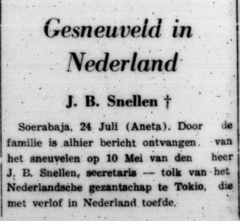 Sumatra Post 24-7-1940