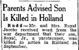 Mason City Globe Gazette 12-10-1944