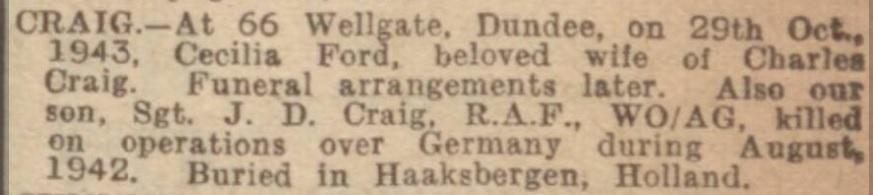 Dundee Evening Telegraph 29-10-1943
