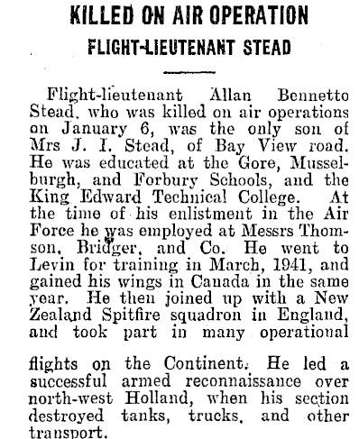 Evening Star 27-1-1945