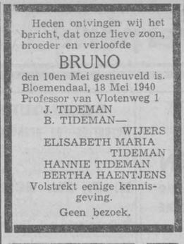 Haarlems Dagblad 18-5-1940