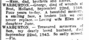 Nottingham Evening Post 22-9-1948