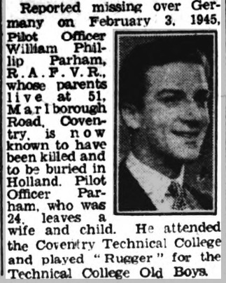 Coventry Evening Telegraph 2-2-1946