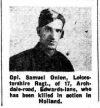 Nottingham Evening Post 22-5-1945
