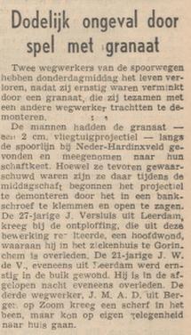 5-10-1956 Provinciale Drentsche en Asser Courant