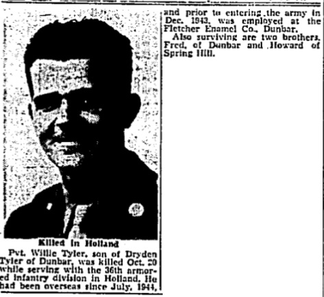 Charleston Gazette 20-2-1945