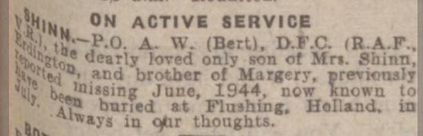 Birmingham Mail 26-1-1945