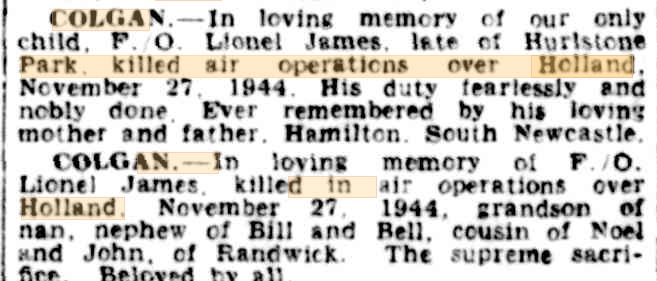 The Sydney morning Herald 27-11-1945