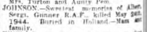Nottingham Evening Post 24-5-1945
