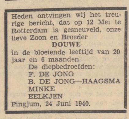 Utrechts Volksblad 1-7-1940