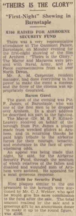 The North Devon Herald 19-9-1946