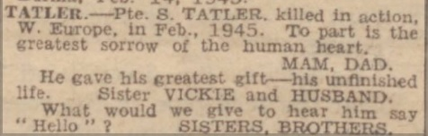 Manchester Evening News 27-2-1945